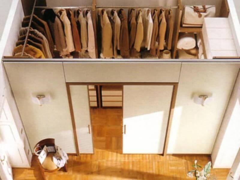 Как сделать гардеробную комнату в домашних условиях