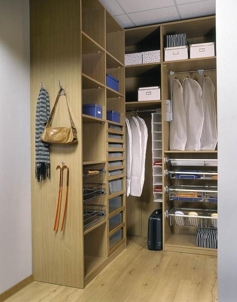 Примеры гардеробных комнат фото.