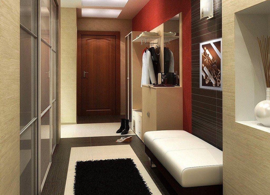 Длинная прихожая дизайн в квартире