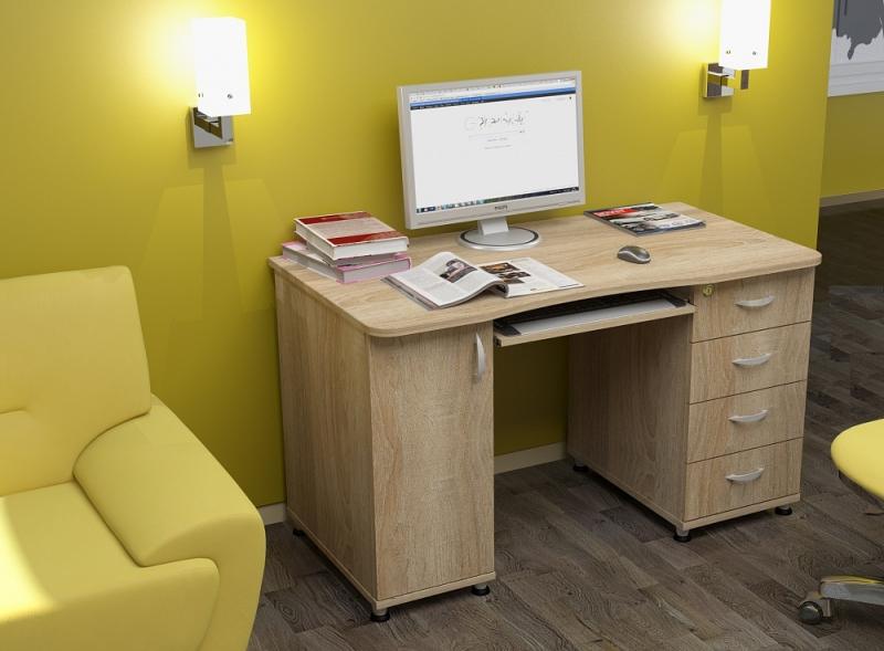 Письменные и компьютерные столы.